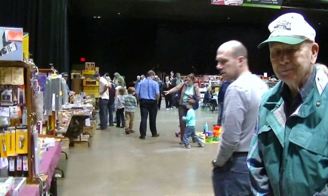 Train Show at the Mid-Hudson Civic Center, Poughkeepsie, NY - vendor Ted Fisch